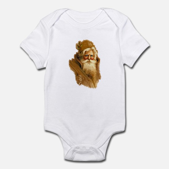Old World Santa Claus Infant Bodysuit