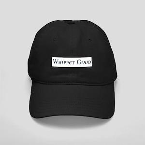 Whippet Good Black Cap
