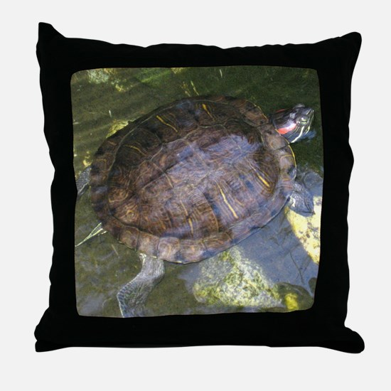 Tina in the Mud Throw Pillow