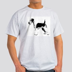 Wire Fox Terrier Ash Grey T-Shirt