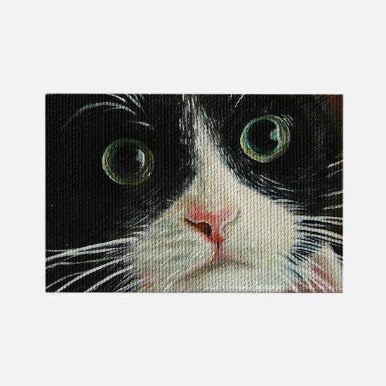 tuxedo cat magnet 2