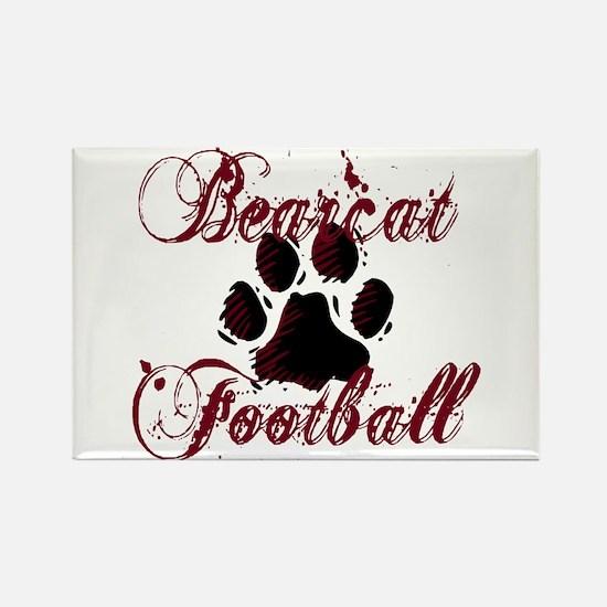 Bearcat Football (1) Rectangle Magnet