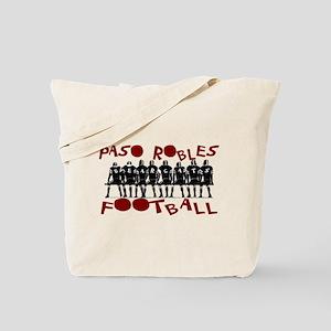 PASO ROBLES FOOTBALL Tote Bag
