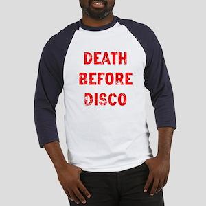 Death Before Disco Baseball Jersey