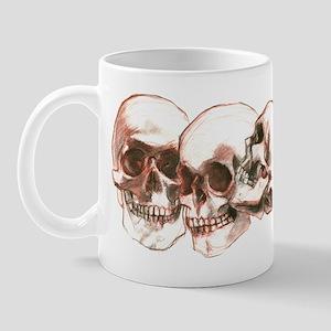 3 Skulls Mug