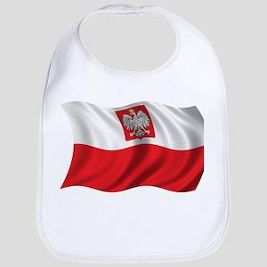 Wavy Poland T-shirt Bib