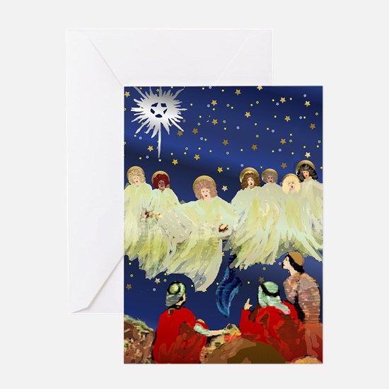 Angels Announce Greeting Card
