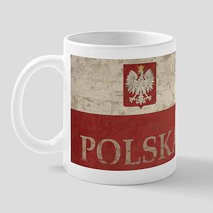 Vintage Polska Mug