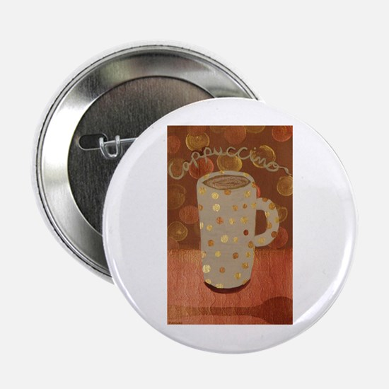 """Cappuccino mug 2.25"""" Button"""