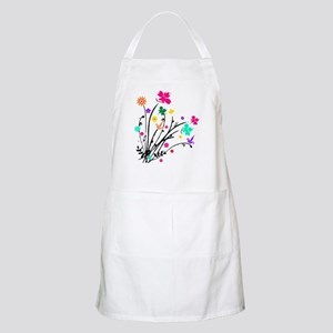 'Flower Spray' BBQ Apron