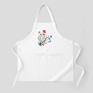 'Flower Spray' BBQ Apron