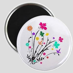 'Flower Spray' Magnet
