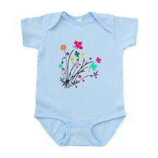 'Flower Spray' Infant Bodysuit