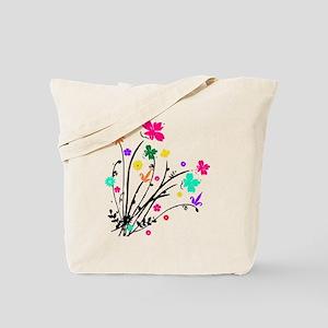'Flower Spray' Tote Bag