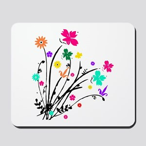 'Flower Spray' Mousepad