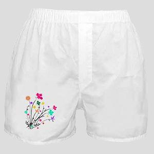 'Flower Spray' Boxer Shorts