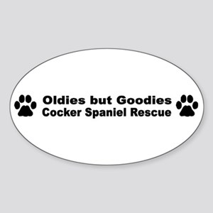 Oldies But Goodies Oval Sticker