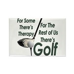 Golf Therapy Rectangular Magnet
