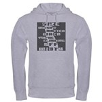 """Size Doesn't Matter"" Hooded Sweatshirt"