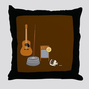 Sweet Jug Band Throw Pillow