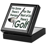 Golf Therapy Keepsake Box