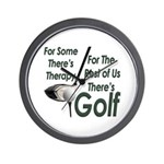Golf Therapy Wall Clock