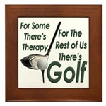 Golf Therapy Framed Tile