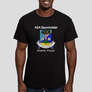 ASA Baumholder Men's Fitted T-Shirt (dark)
