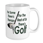 Golf Therapy Large Coffee Mug