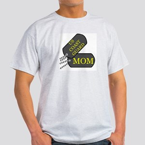 uscg mom dog tag Light T-Shirt
