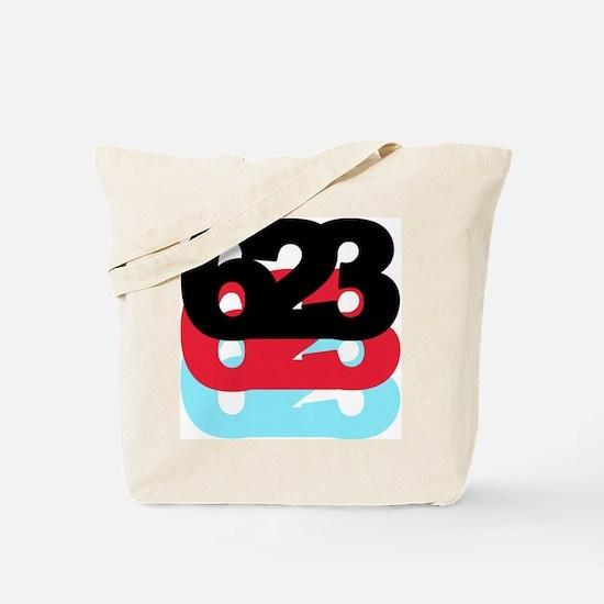 623 Area Code Tote Bag