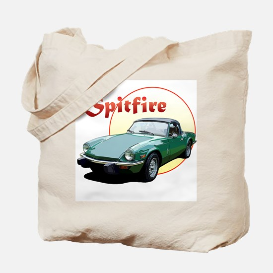 Cute Triumph spitfire Tote Bag