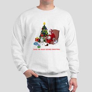 TWAS THE NIGHT BEFORE CHRISTM Sweatshirt