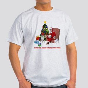 TWAS THE NIGHT BEFORE CHRISTM Light T-Shirt