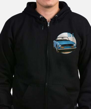 The Avenue Art TR6 Zip Hoodie (dark)