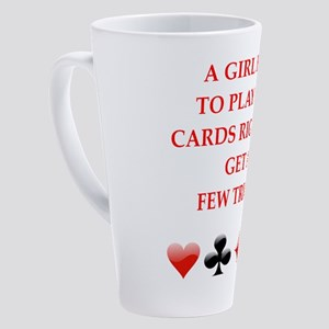 cards 17 oz Latte Mug