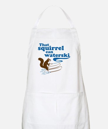 That Squirrel Can Waterski BBQ Apron