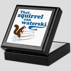 That Squirrel Can Waterski Keepsake Box
