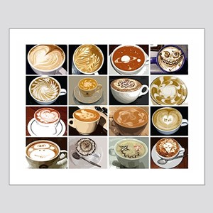 Coffee Art Small Poster