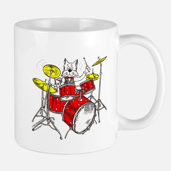 Catoons™ Drums Cat Mug