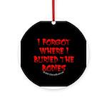 Hiding Bodies Ornament (Round)