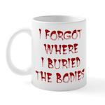 Hiding Bodies Mug
