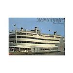 Old New Orleans Steamer President Magnet