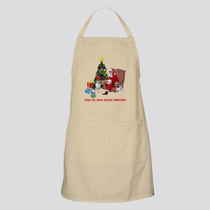 TWAS THE NIGHT BEFORE CHRISTM BBQ Apron