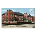 Emerson School Rectangle Sticker 10 pk)