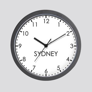 SYDNEY Modern Newsroom Wall Clock