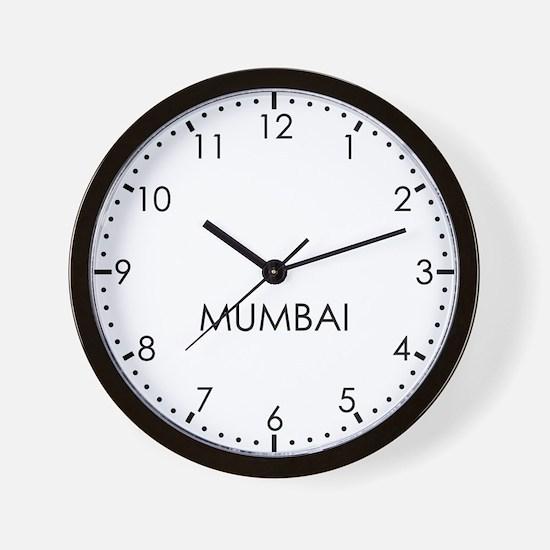 MUMBAI Modern Newsroom Wall Clock
