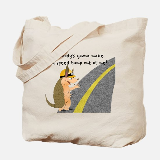 Armadillo Speed Bump Tote Bag