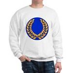 Blue with gold laurel Sweatshirt