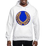 Blue with gold laurel Hooded Sweatshirt